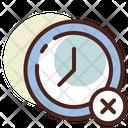 Deadline No Time Minutes Icon