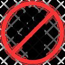 No Stop Block Icon