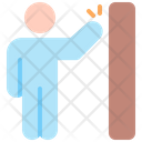 No Touch Coronavirus Prohibit Icon
