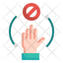 No Touch Forbidden New Normality Icon