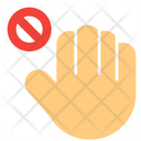 No Touching Do Not Touch No Touch Icon