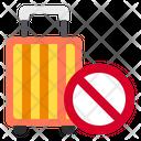 No Travel Icon