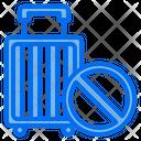 Travel Bag Ban Travel Ban Icon