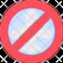 No Traveling No Tour Avoid Icon