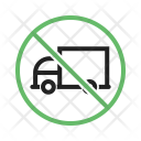 No truck zone Icon