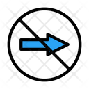 Notallowed Banned Right Icon