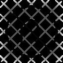 Stop Block Uturn Icon