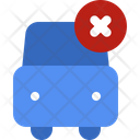 Transport Car Warning Icon