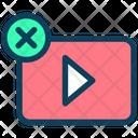 No Video Icon