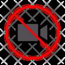 Camera Video Stop Icon
