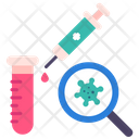No Vaccine Syringe Coronavirus Icon