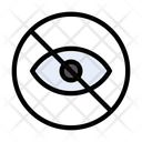 Restricted Notallowed Hide Icon