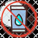 No Water No Wash No Water Icon