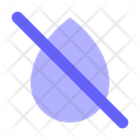 No-water-drop Icon