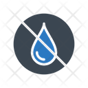 Water Fuel Notallowed Icon