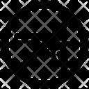 No Weapon Gun Danger Icon