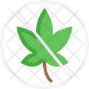 No Weed Icon