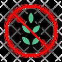 Wheat Grain Stop Icon