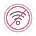 Block Signal Stop Icon