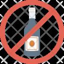 Noalcohol Nowine Winenotallowed Icon