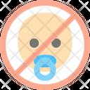 Nochild No Baby Ban Icon