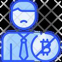 Nocoiner Coin Bitcoin Icon