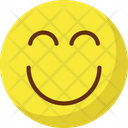 Nodding Smile Excited Icon