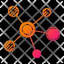 Node Path Grid Icon