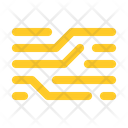 Node board trace transfer robot Icon