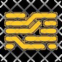 Node Board Trace Icon