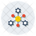 Node Network Networking Node Topology Icon