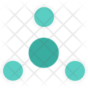 Nodes Network Connected Icon