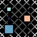Nodes Data Structure Icon