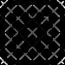 Nodes Vector Design Icon