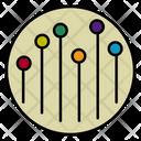 Data Analytics Infographic Statistics Icon