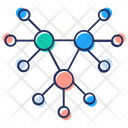 Nodes Network Structure Connection Icon