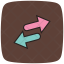 Nofollow Nofollow Links Left And Right Arrows Icon