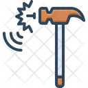 Noise Din Hammer Icon