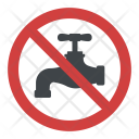 Non-drinking Water Icon