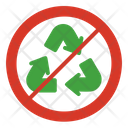 Recycle Recyclable Non Icon