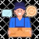 Non Stop Delivery Icon