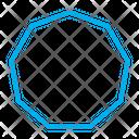 Nonagon Icon