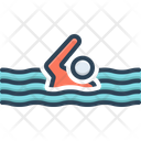 Nonetheless Swim Swimming Icon