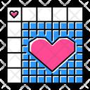 Nonogram Puzzle Grid Icon