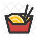 Noodle Meal Chinese Icon
