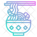 Noodle Chinese Bowl Icon