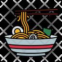 Noodle Bowl Cuisine Icon