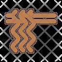 Wavy Noodles Ramen Icon