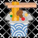 Noodle Box Icon