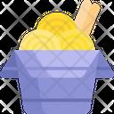 Noodle Box Ramen Fast Food Icon